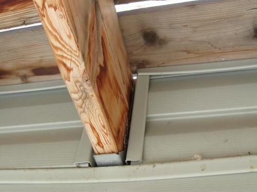 No Flashing Installed Under Deck